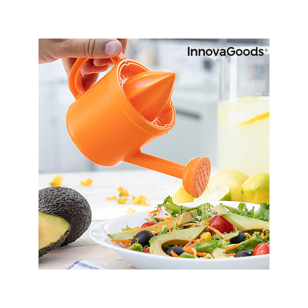 Innovagoods bitty manual watering can citrus fruit squeezer
