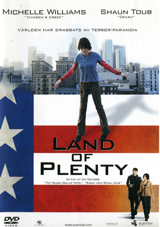 Land of plenty (dvd) drama med michelle williams