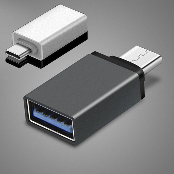 Adapter type c to usb-a 3.0 female converter otg usb c 3.1 for m