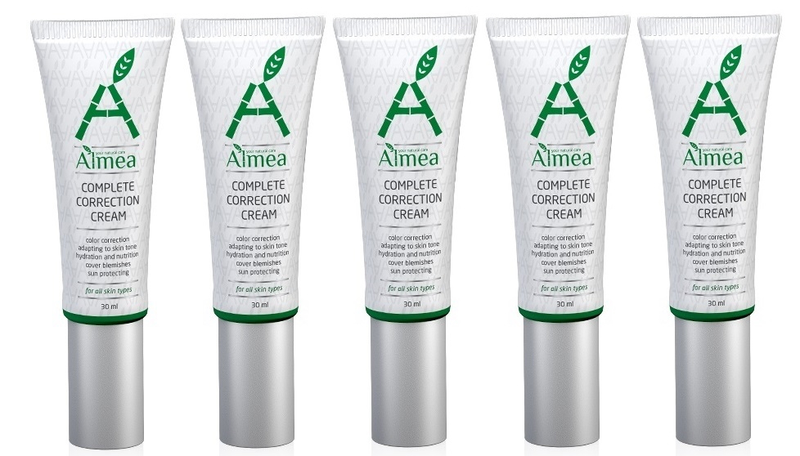 Almea cc cream – light/medium shade 5-pack