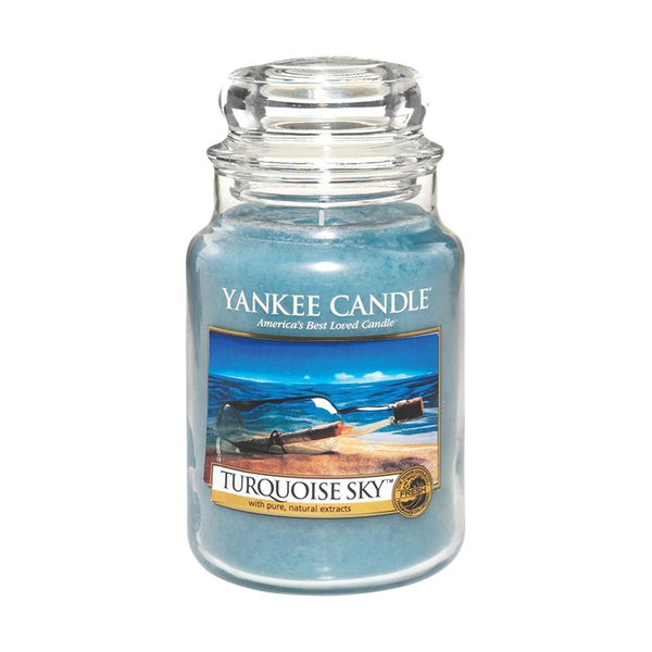 Yankee Candle Classic Large Jar Turquoise Sky Candle 623g