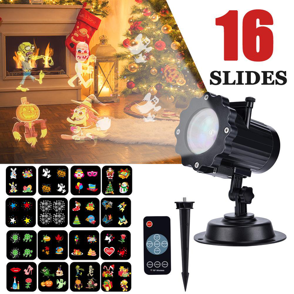 Led projector light outdoor indoor xmas decorative lights,