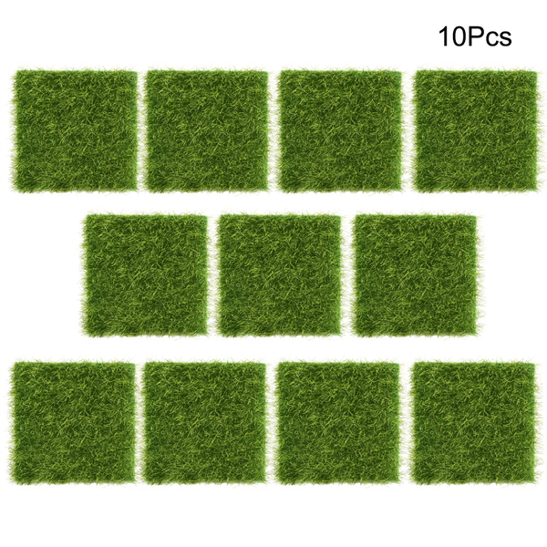 10pcs garden home plastic crafts micro landscape ornaments s