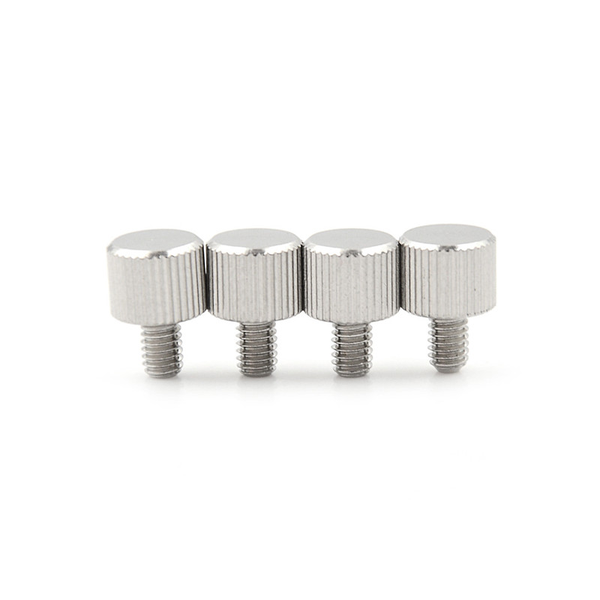 4pcs m4 x 6mm toolless thumb screw stainless steel
