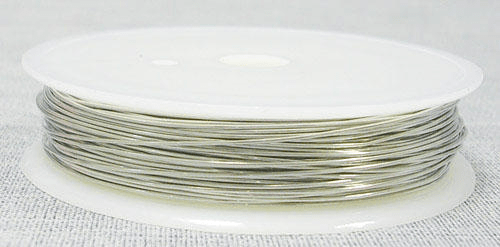 Metalltråd / brass wire 1 rulle 0.2 mm