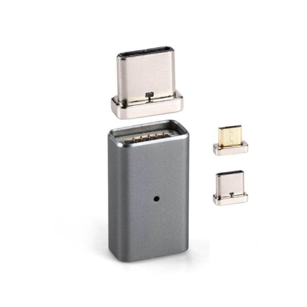 Adapter 2 i ett 1 usb och type-c data konverterare magnetisk…