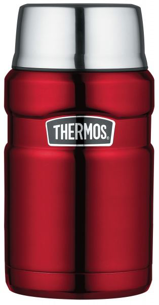 Thermos king hot and cold travel food flask