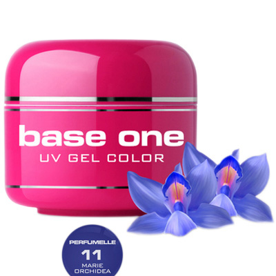 Base one – uv gel – perfumelle – marie orchidea – 11 – 5 gram