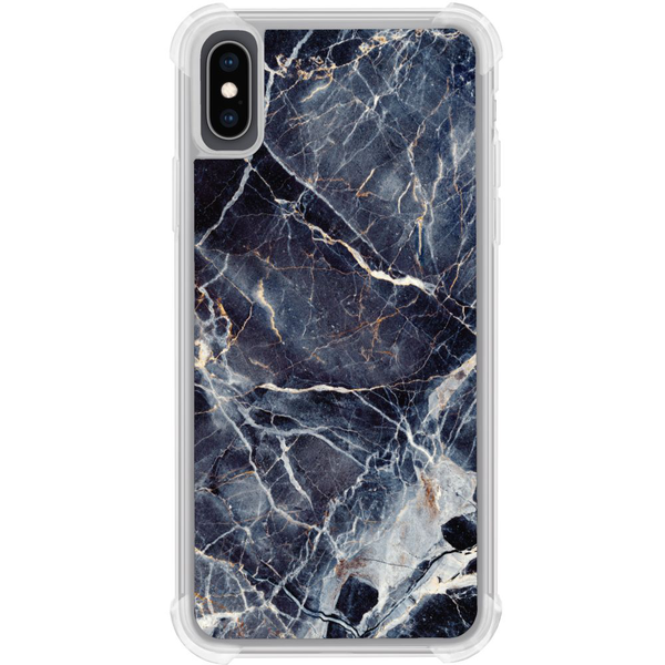 Apple iphone xs max tough case marbled