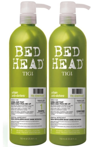 Tigi bed head urban re-energize twins
