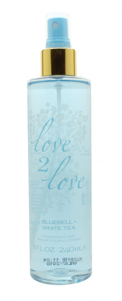 Love2love bluebell & white tea bodymist