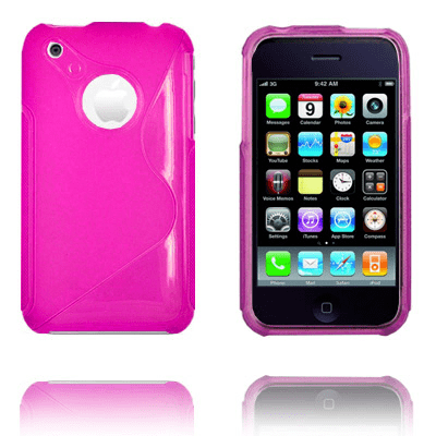 Moon craft (rosa) iphone 3gs skal