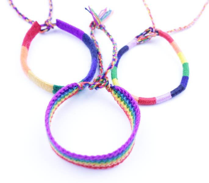 Armband pride 3-pack