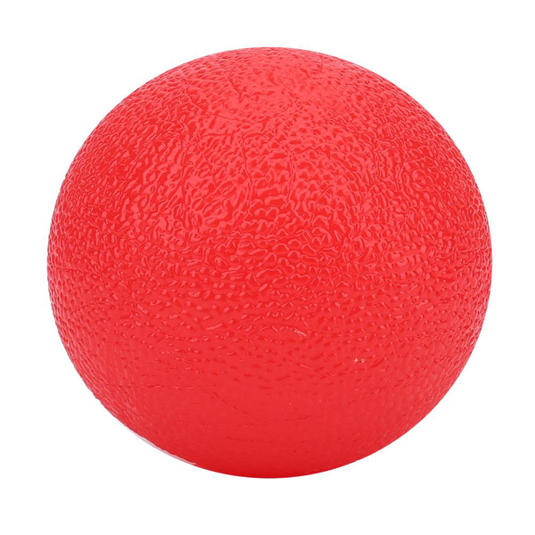 Silicone massage therapy grip ball for hand finger strength