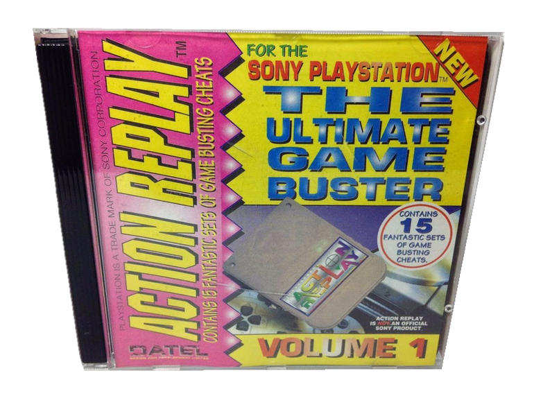 Action replay ver.1 sony playstation