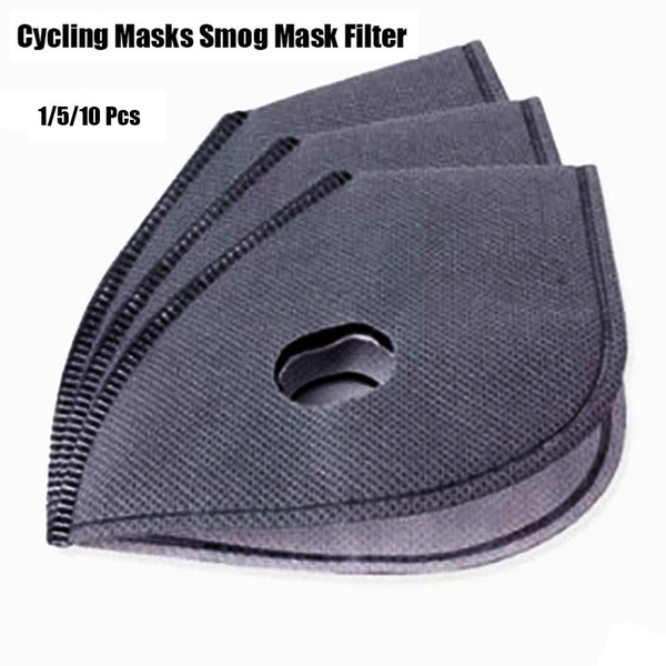 1/5/10pcs activated carbon masks smog mask filter anti-dust