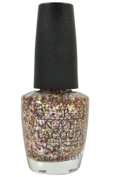 Opi limited edition glitter top coat – gaining mole-mentum