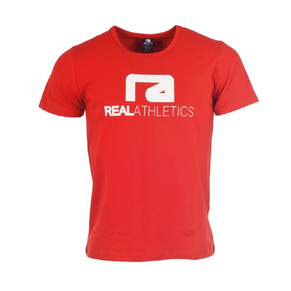 Athletic t-shirt – röd