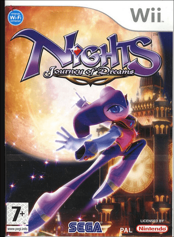 Nights : journey of dreams – wii