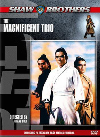 The magnificent trio (dvd) action med margaret tu chuan
