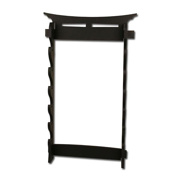 Ws-6wt sword stand 6 tier wall mount sword stand