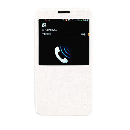 Rock excel window cover fodral till samsung galaxy note 3 (vit)