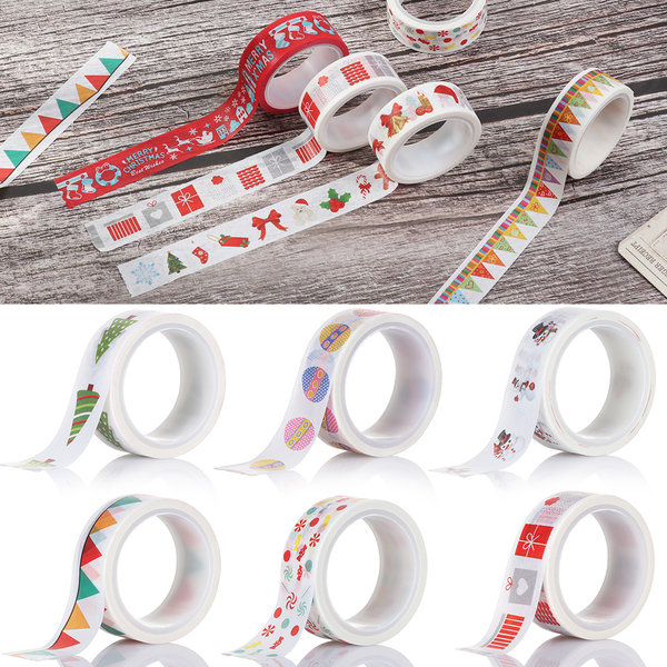 1roll christmas decor tape masking tape christmas tree sticky