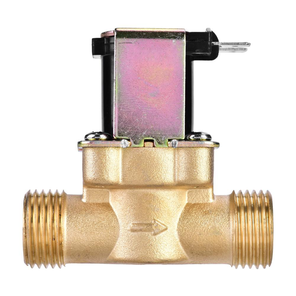 1/2 dc 24v normally closed brass electric solenoid magnetic