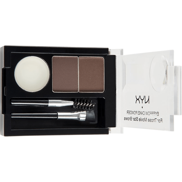Nyx eyebrow cake powder darkbrown/brown