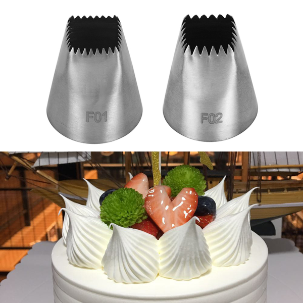 #f01/f02 icing piping nozzles baking mold ice cream tool cake