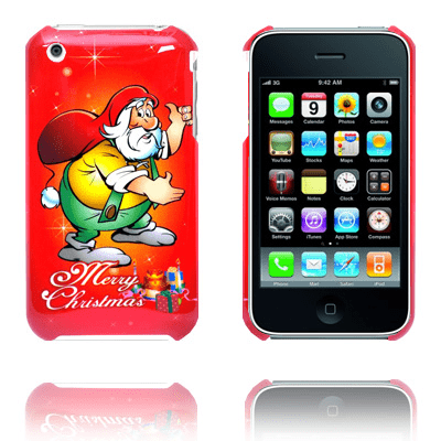 Merry christmas (gul tomte) iphone 3gs skal