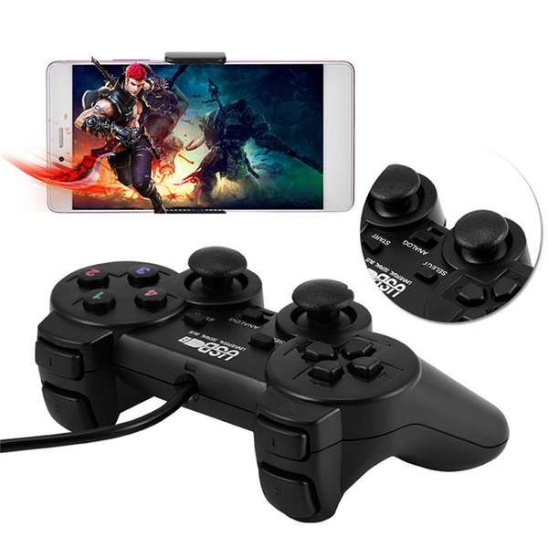 Wired usb gamepad game gaming controller joypad joystick control