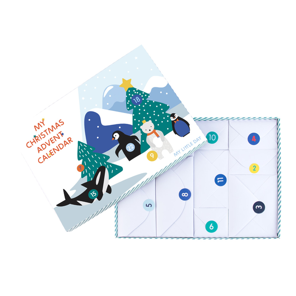 Christmas Advent Calendar Polar Polar Polar Animals Create A Scene Advent 7aad19