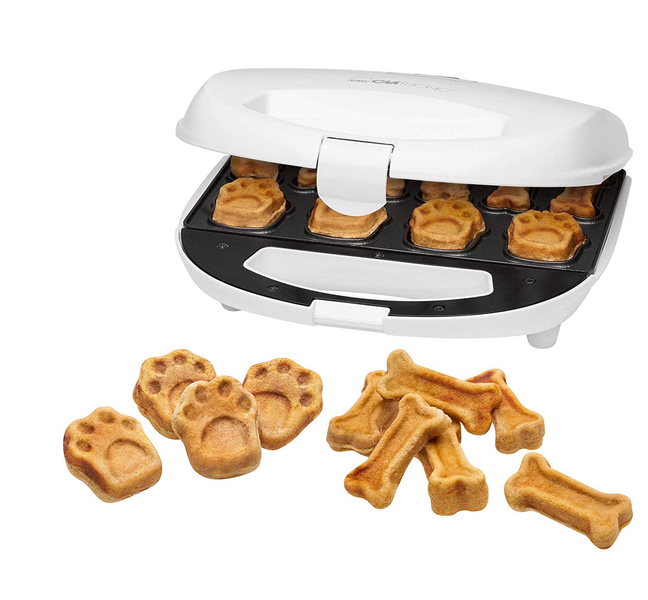 Dog cookie maker with recipe suggestions