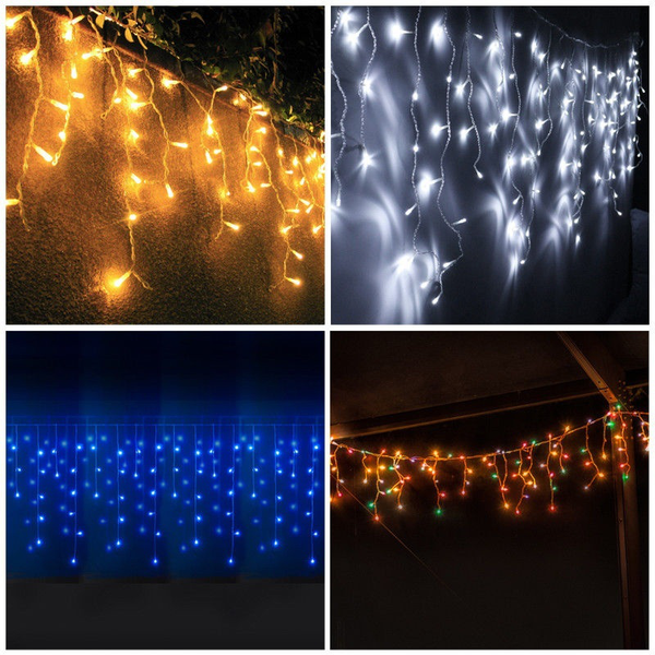 10m 100 led eisregen 10m 100 led ice rain light chain christ