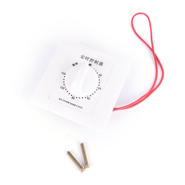 1pc 220v 30/60/120min time countdown intelligent timer switch co