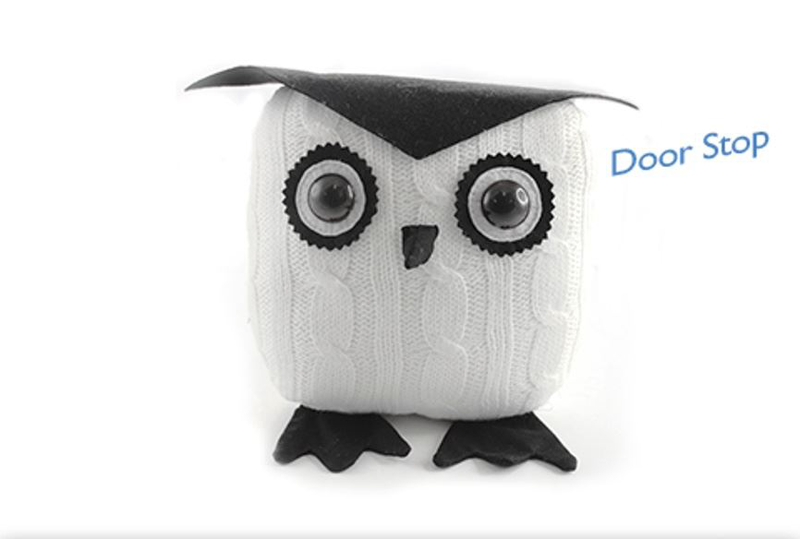 Cute Owl Door Stop from Lesser Lesser Lesser and Pavey 02878b