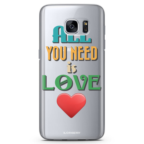 Bjornberry samsung galaxy s6 tpu skal – all you need is love