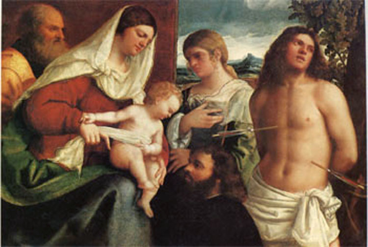 The Holy Holy Holy Family with st Catherine st Sebastian 8d14f4
