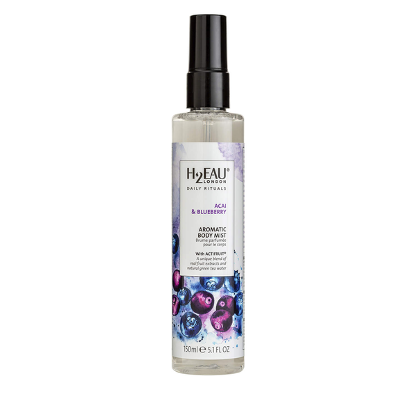 H2eau london acai & blueberry aromatic body mist 150ml