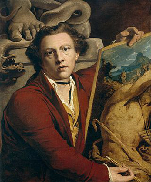 Self-Portrait as Timanthes,James Barry,76x63cm