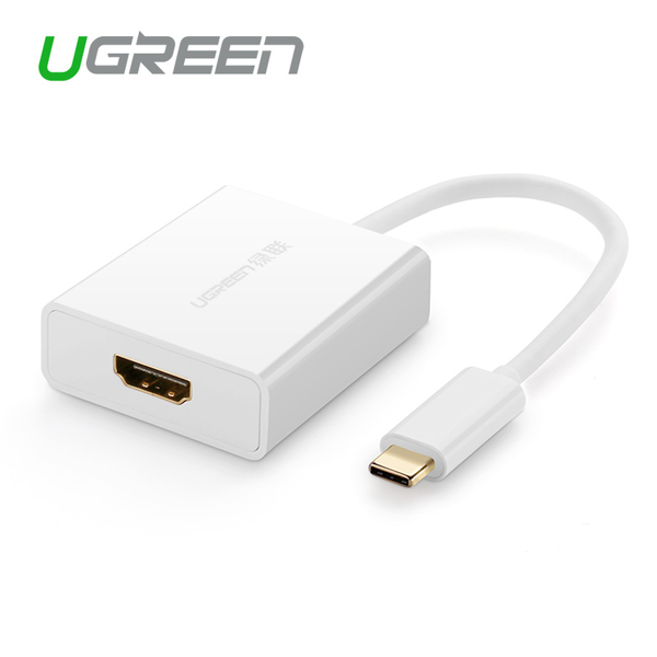 Usb-c till hdmi-adapter vit