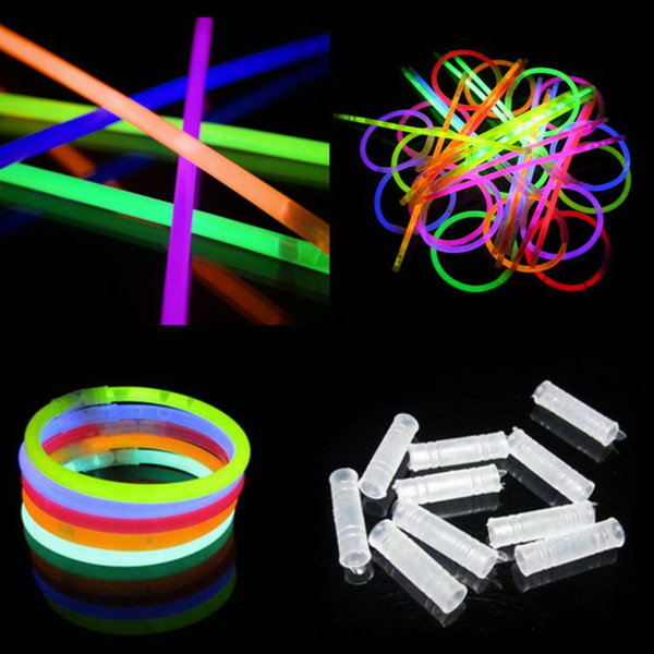 Glow sticks / lysstavar 100-pack