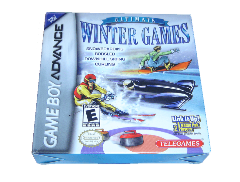 Gameboy advance gba spel – winter games