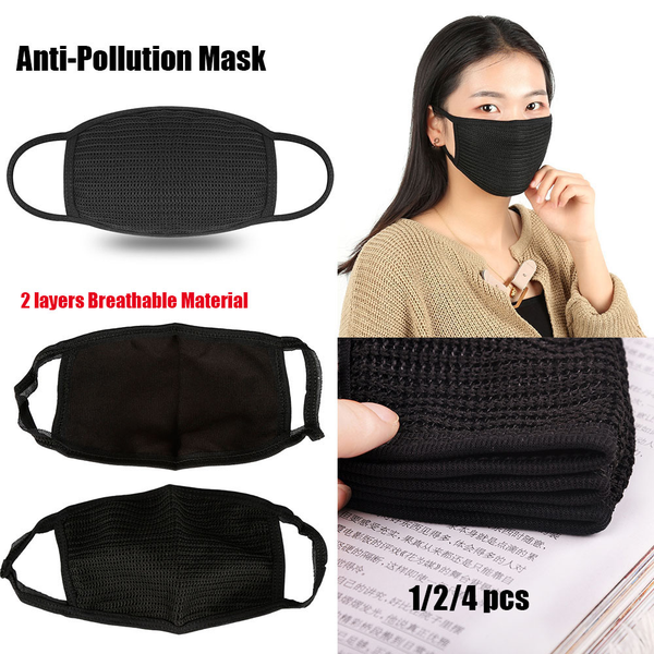 1/2/4pcs cycling mask anti-pollution face masks dust-proof