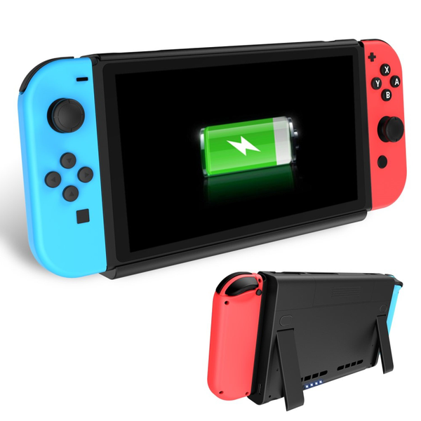6500mah battery charger case + power bank nintendo switch