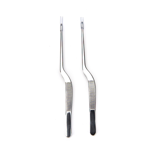 New stainless steel curvedtweezer ear nose clip health care make
