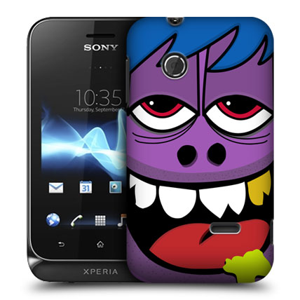 Skal till sony xperia tipo st21i – ugly face