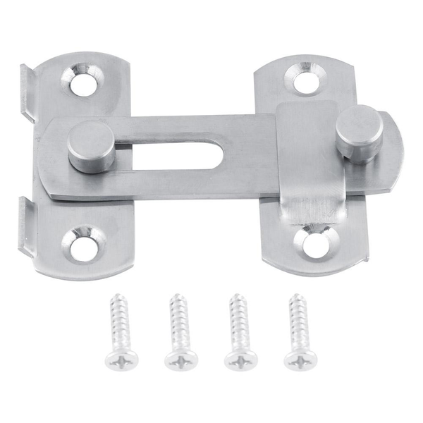 Stainless steel hasp latch lock sliding door for window cabi