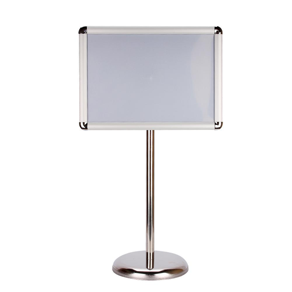 A3 menu snap frame poster holder telescopic display sign flo